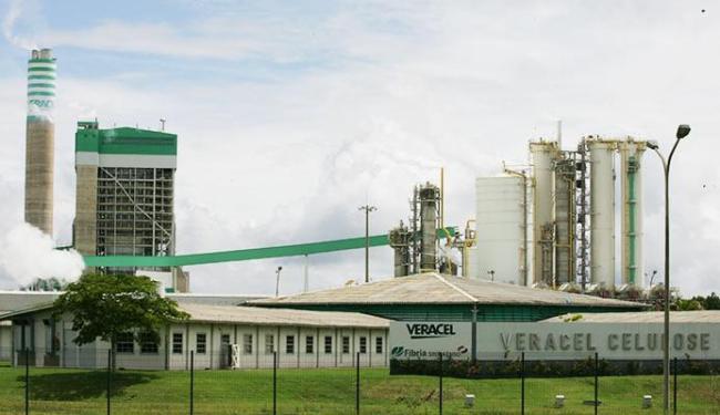 A Veracel vai ampliar e investir R$ 700 milhões em sua fábrica de Eunápolis - Foto: Joá Souza | Ag. A TARDE