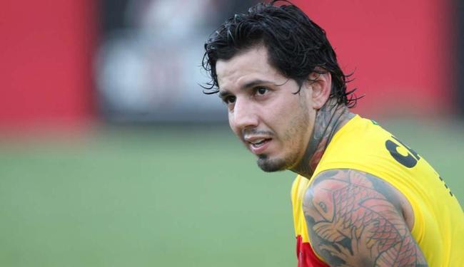 Victor Ramos volta hoje após três jogos fora por lesão e indisciplina - Foto: Adilton Venegeroles | Ag. A TARDE