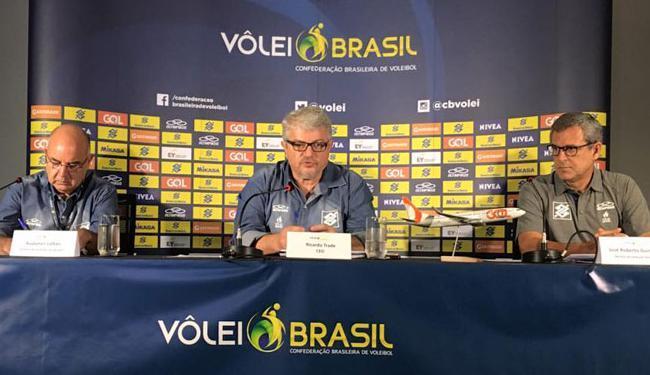 Zé Roberto disse que ficará no comando da Seleção em coletiva nesta sexta-feira, 23 - Foto: Divulgação | Facebook | CBV