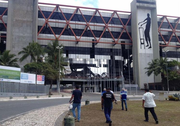 Centro de Convenções no bairro do Stiep - Foto: Anderson Sotero | Ag. A TARDE