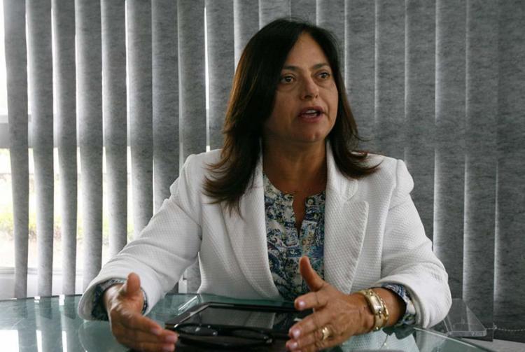 Alice Portugal (PCdoB-BA) defendeu que a Fafen é o embrião do Polo - Foto: Edilson Lima | Ag. A TARDE
