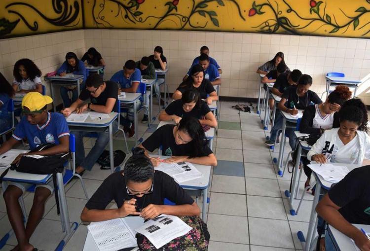 Entre as principais mudanças estão a flexibilização curricular, a ampliação da carga horária e a formação técnica dentro da grade do ensino médio - Foto: Suami Dias   GovBa
