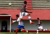 Bahia empata com Flu e vai às quartas da Copa do Brasil sub-20 | Foto: