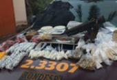 Polícia apreende metralhadora, drogas e 190 munições em Águas Claras | Foto: