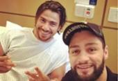 Mariano sai da UTI depois de sofrer acidente no