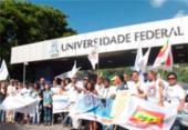 Funcionários da Ufba protestam contra PEC 241 em Ondina | Foto: