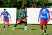 Bahia se reapresenta, e só reservas treinam em campo   Foto: