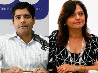Na pesquisa espontânea Neto também lidera com 65% e Alice com 15% - Foto: Agência A TARDE