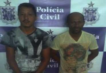 Homens estão a disposição da justiça - Foto: Ascom | Polícia Civil