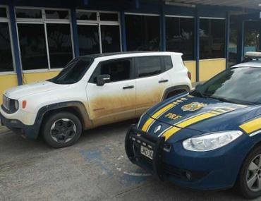 Carro foi roubado em janeiro na cidade de Feira de Santana - Foto: Divulgação | PRF