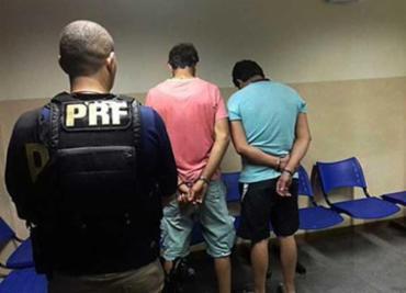 Homens confessaram tentativa de fraude - Foto: Divulgação | PRF