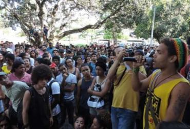 Estudantes permanecem na instituição UFRB - Foto: Erick Lawrence | Divulgação