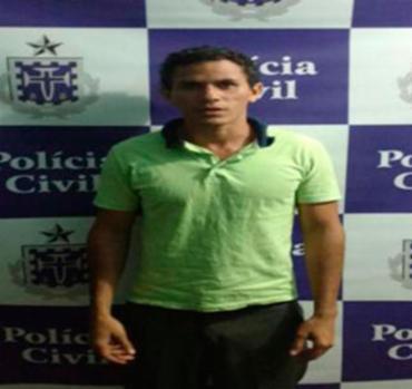 Raimundo foi preso nesta segunda-feira, 24, em Senhor do Bonfim - Foto: Polícia Civil | Divulgação