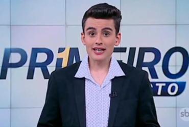 Sindicato protesta contra SBT por colocar garoto de 18 anos em telejornal
