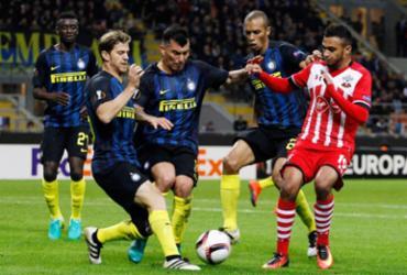 Inter de Milão sua, mas bate o Southampton e vence a primeira na Liga Europa