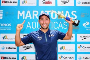 Maratona aquática: atletas gaúchos vencem etapa de Inema do Brasileiro