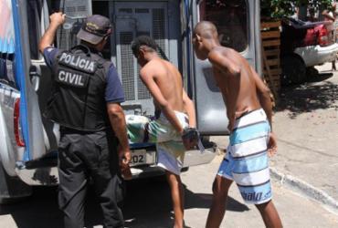 Três são presos em ação no bairro do Nordeste de Amaralina