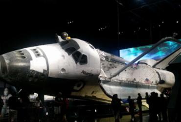 Viagem espacial versão parque |