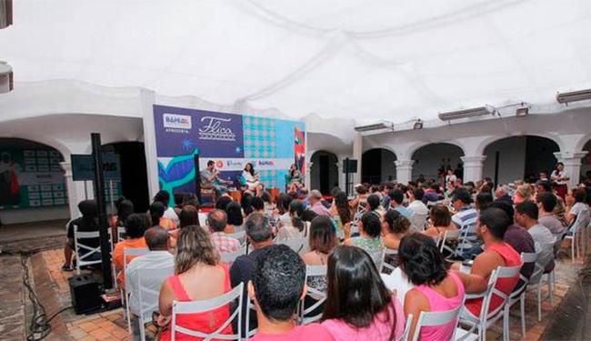 Um bom público acompanhou o debate - Foto: Egi Santana | Divulgação | Flica