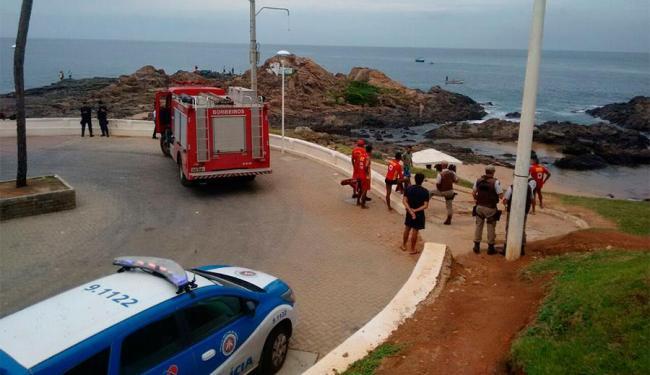 Bombeiros acreditam que Antônio Carlos se afogou - Foto: Edilson Lima | Ag. A TARDE