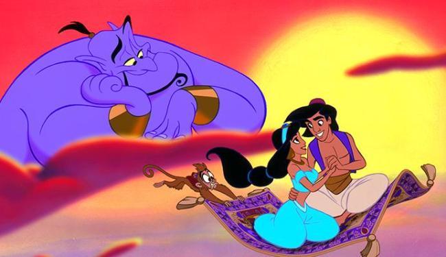 Aladdin vai ganhar nova versão com atores reais - Foto: Divulgação