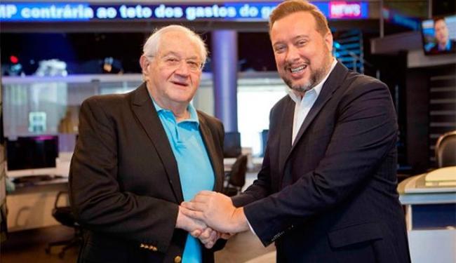 A estreia de Boris Casoy no RedeTV News está marcada para a próxima segunda-feira (17) - Foto: Artur Igrecias   Divulgação