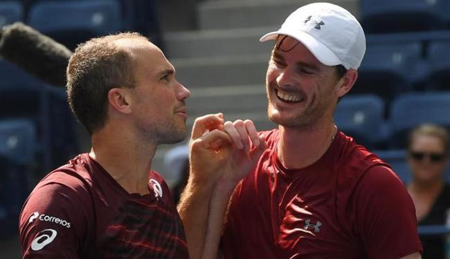 Bruno Soares e Jaime Murray estrearam nesta terça-feira, 4, no ATP de Tóquio - Foto: Robert Deutsch   Reuters