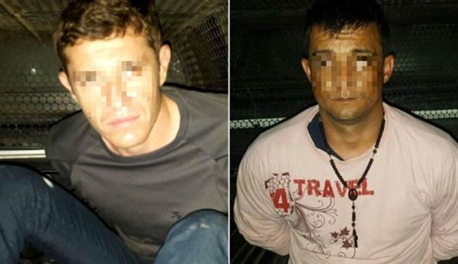 Gélson Arena e Peterson Jorge foram presos em flagrante na madrugada desta segunda-feira, 3. - Foto: Divulgação