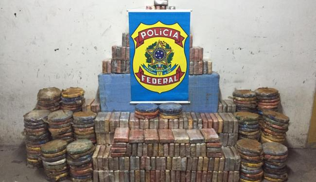 Cocaína seria comercializada em Salvador e em cidades do interior da Bahia - Foto: Divulgação   Polícia Federal