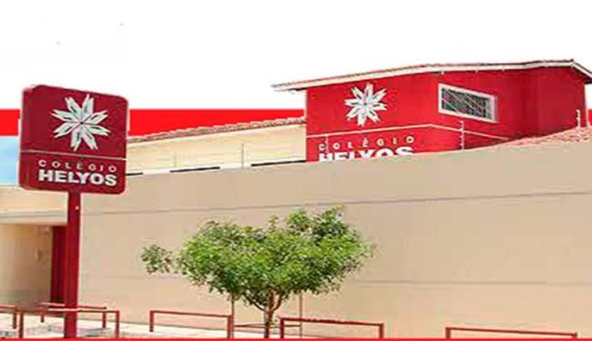 Colégio Helyos, em Feira de Santana, ficou na 43º posição na lista estadual - Foto: Reprodução