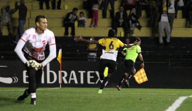 O lateral esquerdo Niltinho fez o gol da Vitória do Criciúma na sexta-feira, 7 - Foto: Caio Marcelo | Criciúma EC