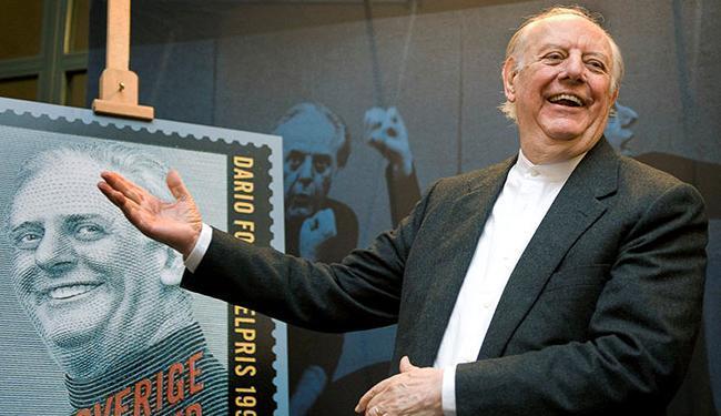 Fo publicou mais de 100 obras teatrais e vários outros livros - Foto: Anders Wiklund   Ag. Reuters