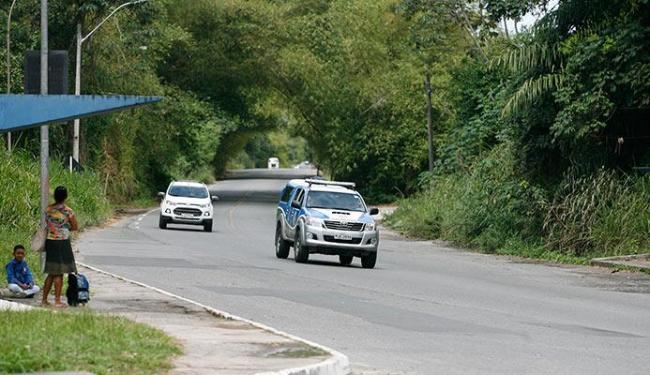 Um dos trechos onde os bandidos costumam agir é perto do acesso ao bairro de Valéria - Foto: Edmilson lima | Ag. A TARDE