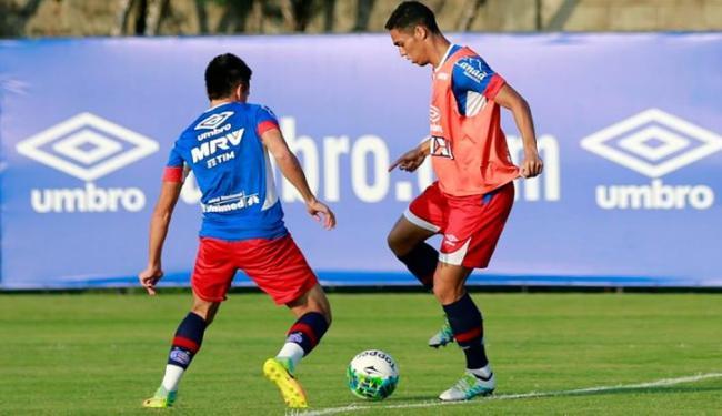 Os atletas treinaram forte nesta quinta-feira, 6 - Foto: Felipe Oliveira | EC Bahia