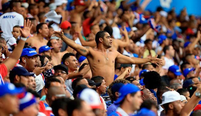 Clube oferece desconto de 50% para quem comprar ingressos pela internet - Foto: Felipe Oliveira   EC Bahia