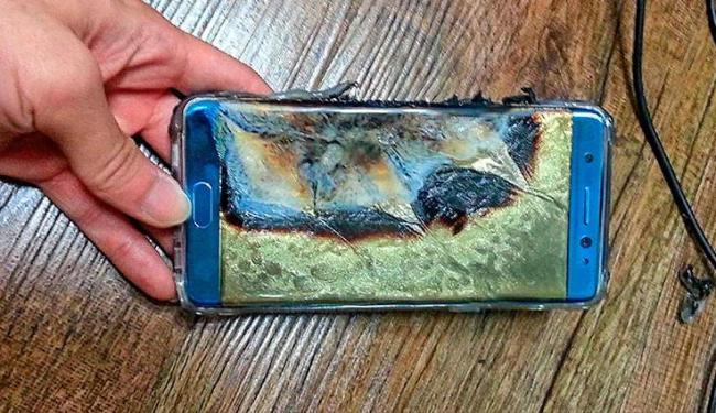 Empresa suspendeu venda do Galaxy Note 7 após episódios de aparelhos pegando fogo - Foto: Reprodução