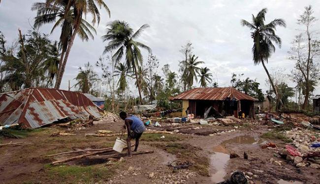Matthew passou pelo Haiti e causou estragos no país - Foto: Andres Martinez Casares   Agência Reuteres