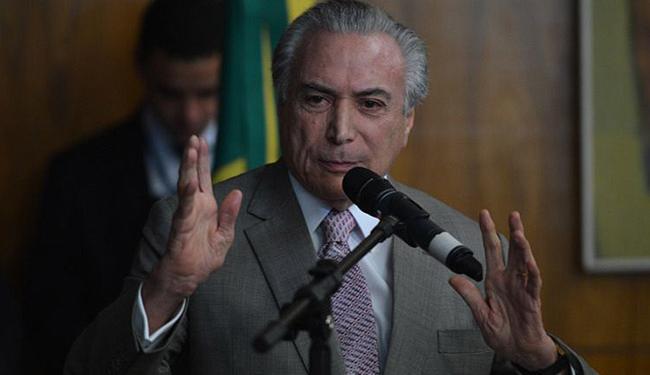 A mensagem de Temer pedindo cancelamento está publicada no DOU - Foto: Fabio Rodrigues Pozzebom l Agência Brasil