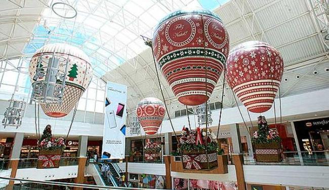 Estratégia é antecipar o clima natalino e manter as vendas aquecidas - Foto: Luciano da Matta   Ag. A TARDE