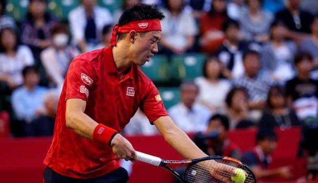O japonês passou Rafael Nadal após o espanhol cair nas quartas no Torneio de Pequim - Foto: Kim Kyung-Hoon | Reuters