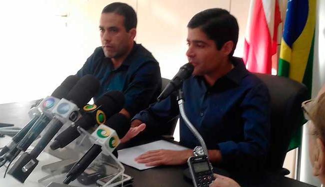 ACM Neto, em coletiva no dia seguinte à sua reeleição para a prefeitura de Salvador - Foto: Joá Souza | Ag. A TARDE