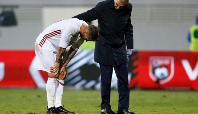 Exame detectou torção de grau II e o jogador desfalcará o Real Madrid - Foto: Antonio Bronic | Reuters