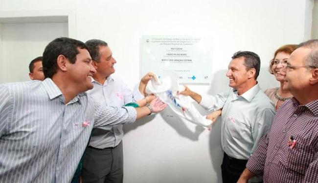 O governador Rui Costa participou da inauguração - Foto: Pedro Moraes | GOVBA