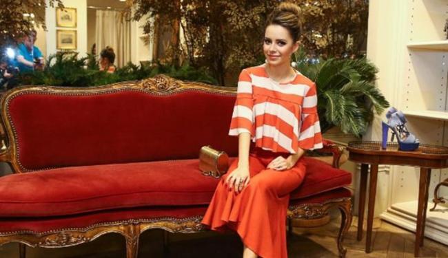 Sandy durante o lançamento da nova coleção da marca Bo.Bô - Foto: Foto: Manuela Scarpa/Brazil News