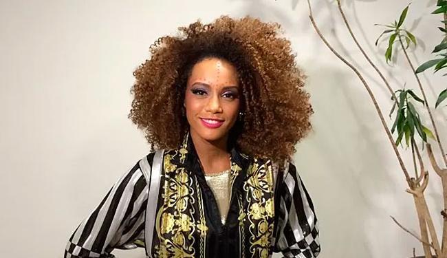 a atriz Taís Araújo alterou sua imagem de perfil nas redes sociais nesta segunda - Foto: TV Globo   Divulgação
