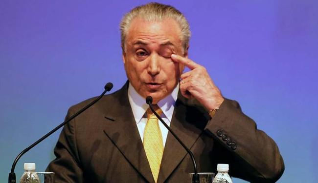 Esse é o primeiro levantamento sobre a popularidade do peemedebista - Foto: Nacho Doce | Agência Reuters