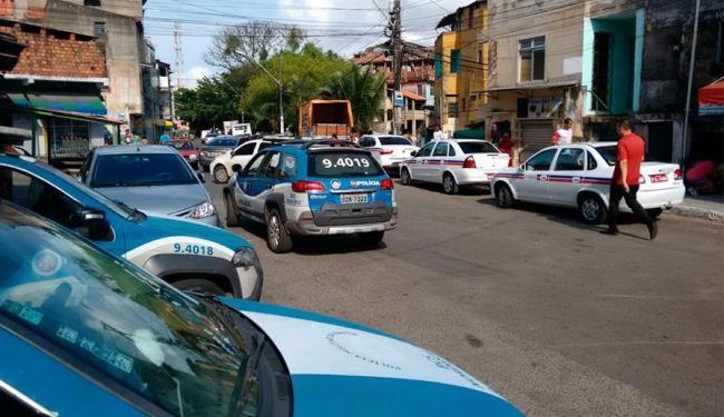 Mesmo com policiamento reforçado, rodoviários ainda não se sentem seguros - Foto: Edilson Lima   Ag. A TARDE