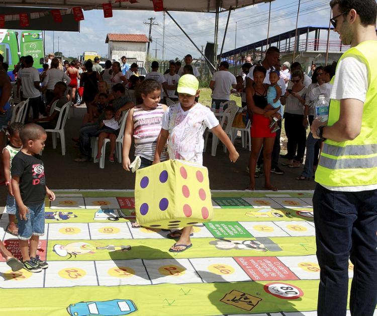 Ceasa Cidadã teve atividades lúdicas para crianças e ações contra a exploração do trabalho infantil na feira - Foto: Xando Pereira l Ag. A TARDE