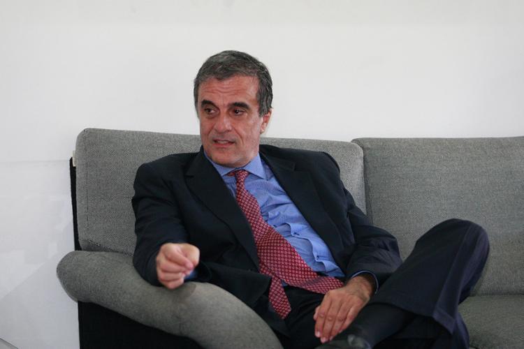 Cardozo visitou A TARDE, onde deu entrevista exclusiva - Foto: Luciano da Matta l Ag. A TARDE