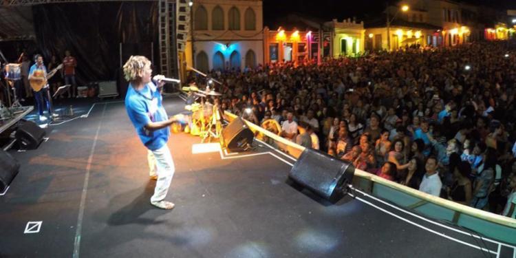 Mart´Nália foi a atração da segunda noite do Festival, na sexta - Foto: Diego Mascarenhas   GOVBA